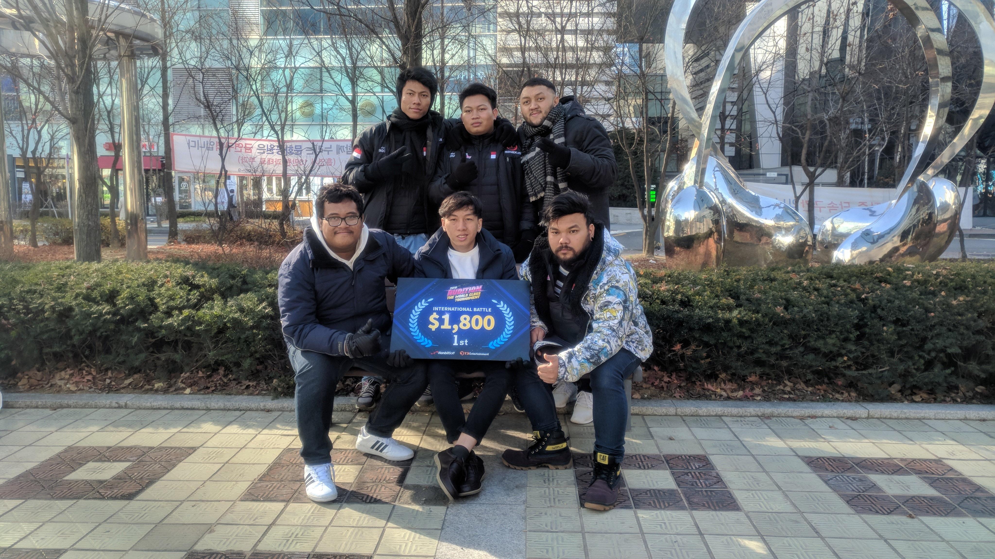 INDONESIA JUARAI TEAM MATCH AUDITION WORLD CHAMPIONSHIP 2018